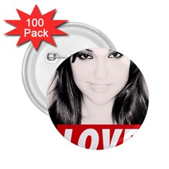 Sasha Grey Love 2 25  Buttons (100 Pack)