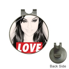 Sasha Grey Love Hat Clips With Golf Markers