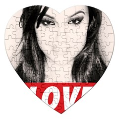 Sasha Grey Love Jigsaw Puzzle (heart)