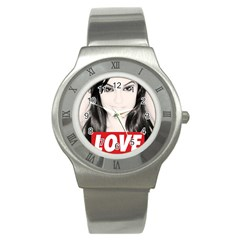 Sasha Grey Love Stainless Steel Watch