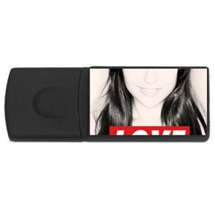 Sasha Grey Love Rectangular Usb Flash Drive
