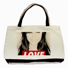 Sasha Grey Love Basic Tote Bag (two Sides)