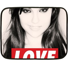 Sasha Grey Love Double Sided Fleece Blanket (mini)