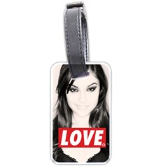 Sasha Grey Love Luggage Tags (two Sides)