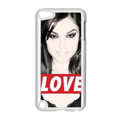 Sasha Grey Love Apple Ipod Touch 5 Case (white)
