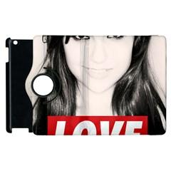 Sasha Grey Love Apple Ipad 3/4 Flip 360 Case