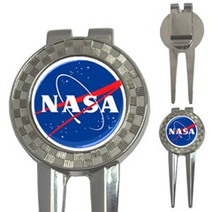 Nasa Logo 3 In 1 Golf Divots