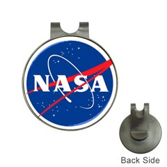 Nasa Logo Hat Clips With Golf Markers