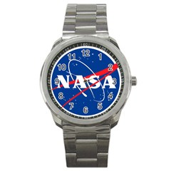 Nasa Logo Sport Metal Watch