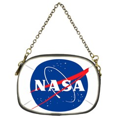 Nasa Logo Chain Purses (two Sides)