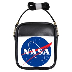 Nasa Logo Girls Sling Bags