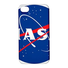 Nasa Logo Apple Iphone 4/4s Hardshell Case With Stand