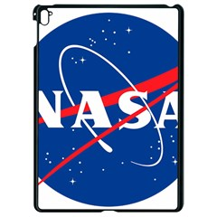 Nasa Logo Apple Ipad Pro 9 7   Black Seamless Case