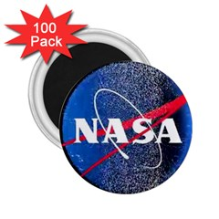 Nasa Logo 2 25  Magnets (100 Pack)