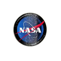 Nasa Logo Hat Clip Ball Marker (4 Pack)