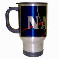 Nasa Logo Travel Mug (silver Gray)