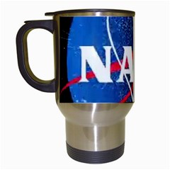 Nasa Logo Travel Mugs (white)