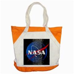 Nasa Logo Accent Tote Bag