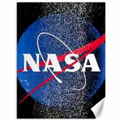 Nasa Logo Canvas 36  X 48
