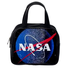 Nasa Logo Classic Handbags (one Side)
