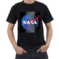 Nasa Logo Men s T Shirt (black)