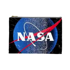 Nasa Logo Cosmetic Bag (large)