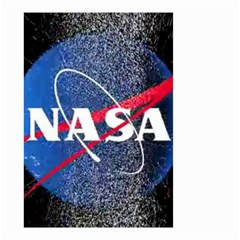 Nasa Logo Small Garden Flag (two Sides)