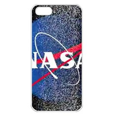 Nasa Logo Apple Iphone 5 Seamless Case (white)