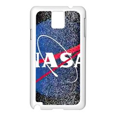 Nasa Logo Samsung Galaxy Note 3 N9005 Case (white)