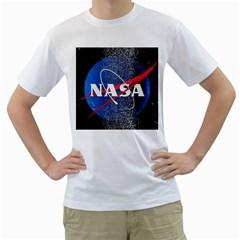 Nasa Logo Men s T Shirt (white)