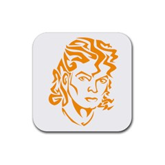Michael Jackson Rubber Coaster (square)