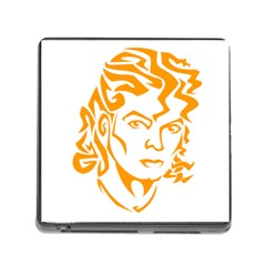Michael Jackson Memory Card Reader (square)