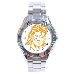 Michael Jackson Stainless Steel Analogue Watch
