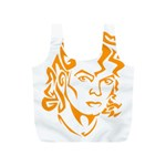 Michael Jackson Full Print Recycle Bags (S)  Front