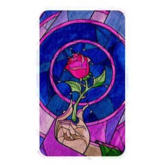 Enchanted Rose Stained Glass Memory Card Reader