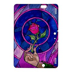 Enchanted Rose Stained Glass Kindle Fire Hdx 8 9  Hardshell Case