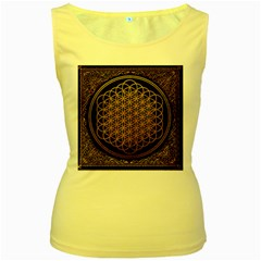 Bring Me The Horizon Cover Album Gold Women s Yellow Tank Top