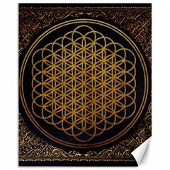 Bring Me The Horizon Cover Album Gold Canvas 11  X 14