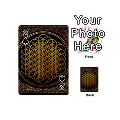 Bring Me The Horizon Cover Album Gold Playing Cards 54 (mini)