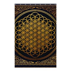Bring Me The Horizon Cover Album Gold Shower Curtain 48  X 72  (small)