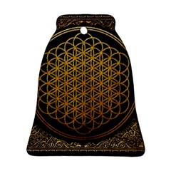 Bring Me The Horizon Cover Album Gold Bell Ornament (two Sides)