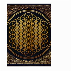 Bring Me The Horizon Cover Album Gold Large Garden Flag (two Sides)