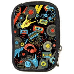 Music Pattern Compact Camera Cases
