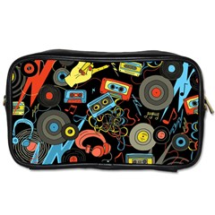 Music Pattern Toiletries Bags