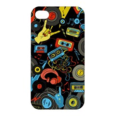 Music Pattern Apple Iphone 4/4s Hardshell Case