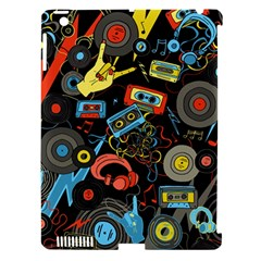 Music Pattern Apple Ipad 3/4 Hardshell Case (compatible With Smart Cover)