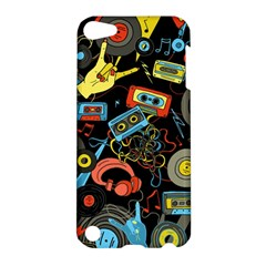 Music Pattern Apple Ipod Touch 5 Hardshell Case