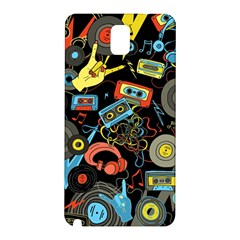 Music Pattern Samsung Galaxy Note 3 N9005 Hardshell Back Case