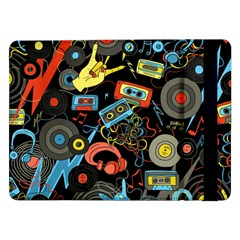 Music Pattern Samsung Galaxy Tab Pro 12 2  Flip Case