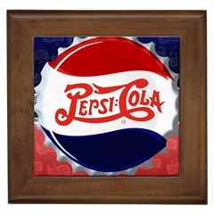 Pepsi Cola Framed Tiles